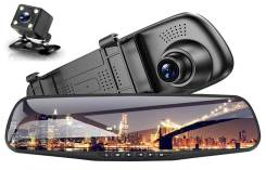 Видеорегистратор с камерой заднего вида Vehicle Blackbox DVR Full HD