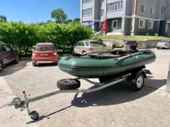 Продам моторную Лодку ПВХ НДНД Solar 350 с мотором Johnson 9.9 (15)