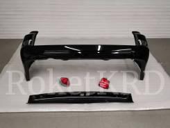 Бампер задний Toyota land cruiser 200 с 2016 черный