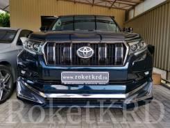 Обвес Toyota land Cruiser Prado 150 2018 Черный Modellista