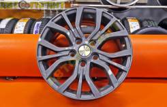 Комплект новых литых дисков Khomen Wheels (1608 ZV Optima) R16 5*114.3