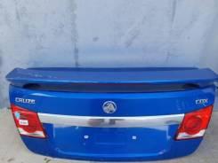 Крышка багажника на Шевроле Круз седан + спойлер