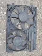 Рамка для двух вентиляторов в сборе с вентиляторами passat B6 3.2