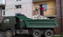 Вывоз строительного мусора, хлама, грунта. Грузчики. Услуги самосвалов!