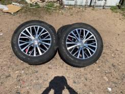 Комплект оригинальных летних колёс на Lexus LX 570 LX 450D R20