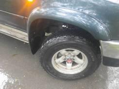 Продам колеса на джип новые 245/75/16 на литье с выносом.