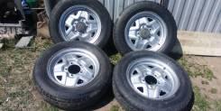 Комплект дисков 16.5.139.7 ЕТ22+шины, эскудо, нива таун эйс, волга, уаз