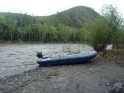 Лодка Флагман DK410 igla JET и водомет 30л. с то