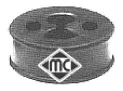 Кронштейн глушителя fiat panda 1.1 / punto 1.1 / 1.2 / 1 Metalcaucho 02638