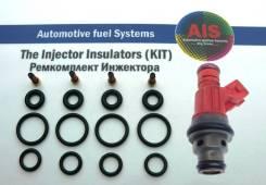 Ремкомплект на 4 инжектора = 0280155749, SAAB 9-3, 9-5 (2.3L) Turbo