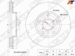 Диск тормозной перед Toyota RAV4 ACA / ZCA2# 00- / Camry SV32 / 33