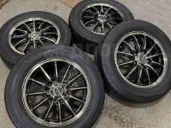 Monza JP Style Vercely R15 5*114.3 6j et43 + 205/65R15 Dunlop Enasave