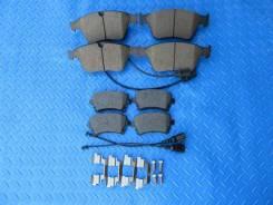Тормозные колодки передние и задние Bentley Continental
