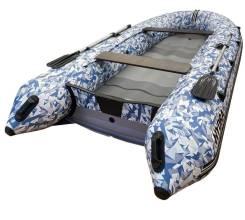 Надувная лодка ПВХ, Hydra NOVA 365 НДНД, камуфляж лёд, Optima, (PC)