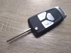 Выкидной ключ зажигания под чип универсальный на любой авто без платы