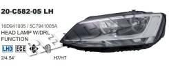 Фара левая OEM 20C582052B Volkswagen Jetta 6 -