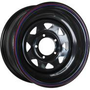 Колесный диск Nissan/Toyota 8x16/6x139.7 D110 ET-25 Black ORW