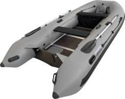 Надувная лодка ПВХ, Навигатор 350C, серый, Forza