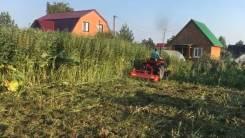 Услуги Мульчера. Очистка участка от травы, мелких кустарников.
