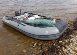 Лодку Golfstream с мотором