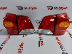 Стоп - сигналы Toyota Land Cruiser 200 2м 12-15г Красные
