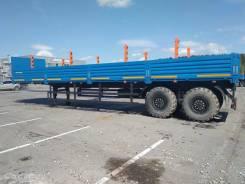 Бортовой полуприцеп Нефаз 9334-24-16 под тягач с КМУ