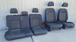 Комплект сидений с подогревом Volkswagen Polo (седан, пробег 70т) 2013г