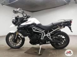 Мотоцикл Triumph Tiger 800 2011, Белый пробег 3899