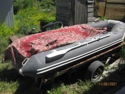 Продаю лодку пвх 3600 нднд 15 лс