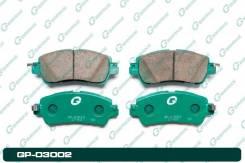 Тормозные колодки G-Brake GP03002 (Япония), передний