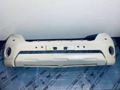 Бампер передний белый Toyota Land Cruiser Prado 150 2014-2017