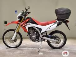 Мотоцикл Honda CRF 250L 2015, Красный пробег 18644