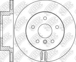 Диск тормозной задний BMW X3 (F25) 2010-2017 / X4 (F26) 2014-2018
