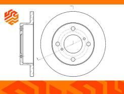 Диск тормозной G-Brake GR01793 передний