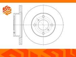Диск тормозной вентилируемый G-Brake GR20894 передний
