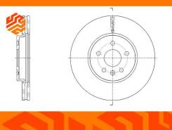 Диск тормозной вентилируемый G-Brake GR21504