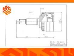ШРУС привода HDK NI065A44 передний (Япония)