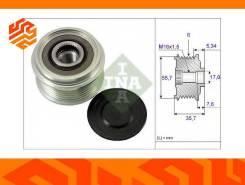 Ременной шкив генератора INA 535007710 (Германия)
