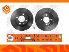 Диск тормозной NIBK RN1279 передний (Япония)