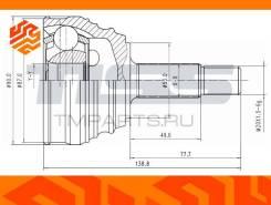 ШРУС внешний JD JCT0092