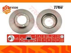 Диск тормозной TRW DF4506 передний