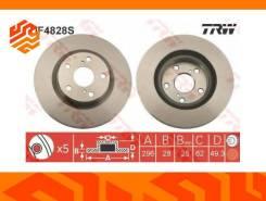 Диск тормозной TRW DF4828S передний
