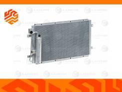 Радиатор кондиционера с ресивером Luzar LRAC0190