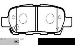 Колодки тормозные дисковые зад / GK0732 CTR [CKN17]