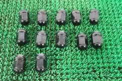 Гайки колесные M14*1,5 12шт цвет черный