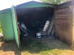 Металический гараж