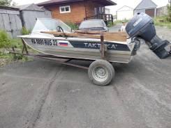 """Моторная лодка """"Тактика"""" и мотор """"Ямаха 30"""""""