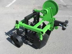 Картофелекопалка вибрационная для мотоблока и мини трактора КМ-1080