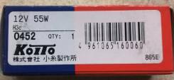 Лампа головного света Koito 0452 (H3C 12V 55W)