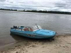 Продам моторную лодку Обь - 3